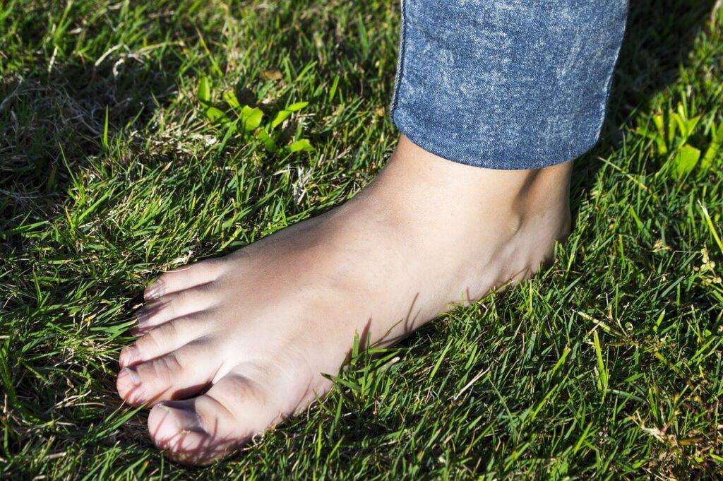 stopa wydrążona